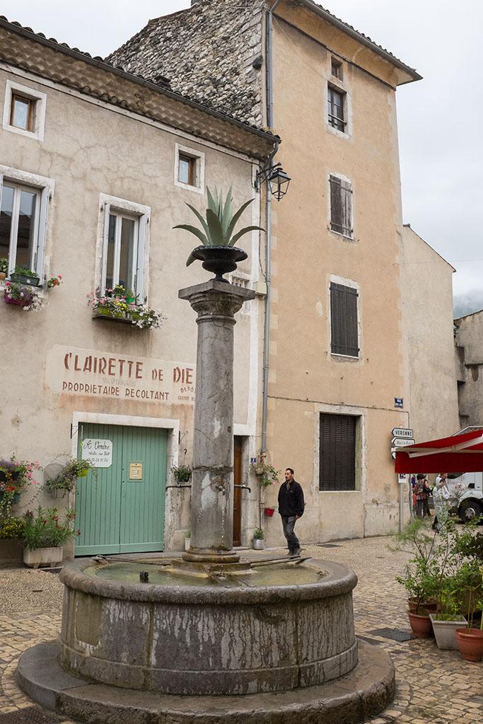 Le centre du village.