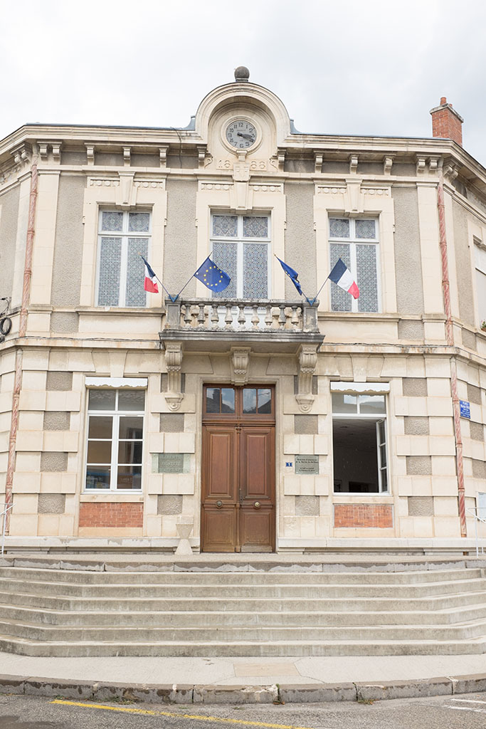 Mairie de Saillans.