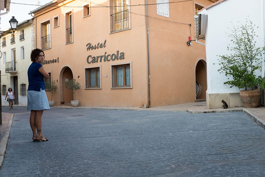 L'hôtel-restaurant de Carricola.